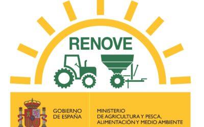 PLAN RENOVE MAQUINARIA AGRÍCOLA 2020